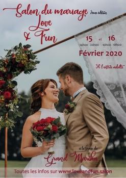 affiche love and fun 2020