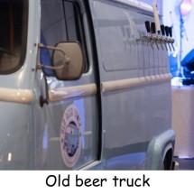 old beer truck